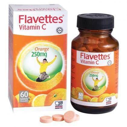 Flavettes Vitamin C 250mg 60's PROMO