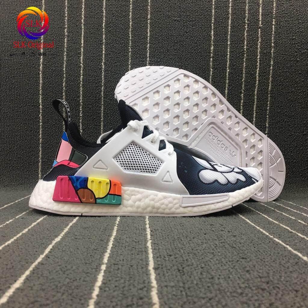 ยี่ห้อนี้ดีไหม  น่าน SLK★XX KAWS X Adidas NMD ผู้ชาย Professional Sport M