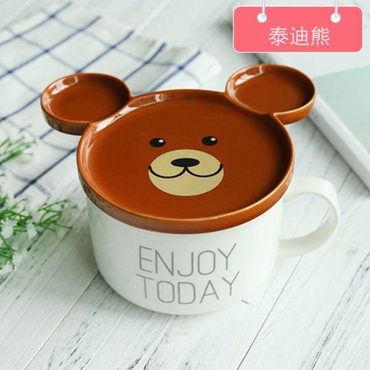 Korea Style Cute Character Ceramic Bowl ACC-018