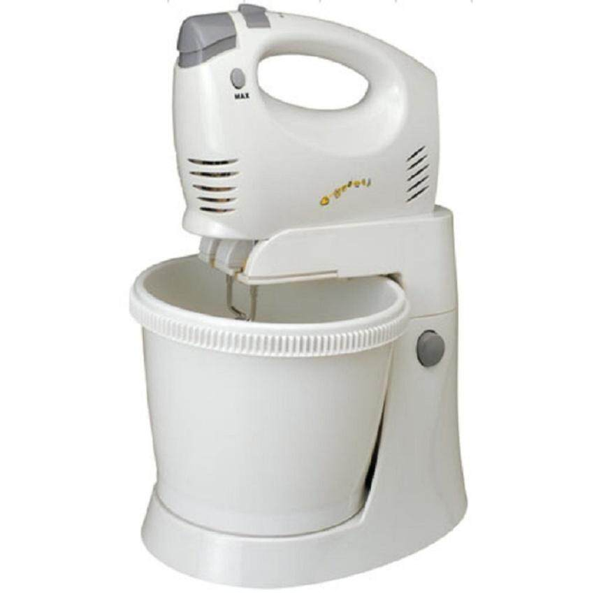Butterfly Stand Mixer With Bowl White B-4318
