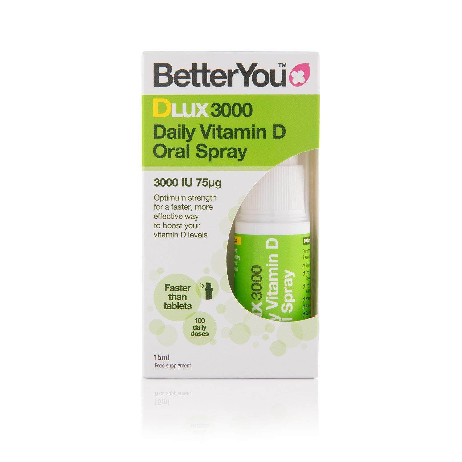 BetterYou Dlux Vitamin D Oral Spray 15ml