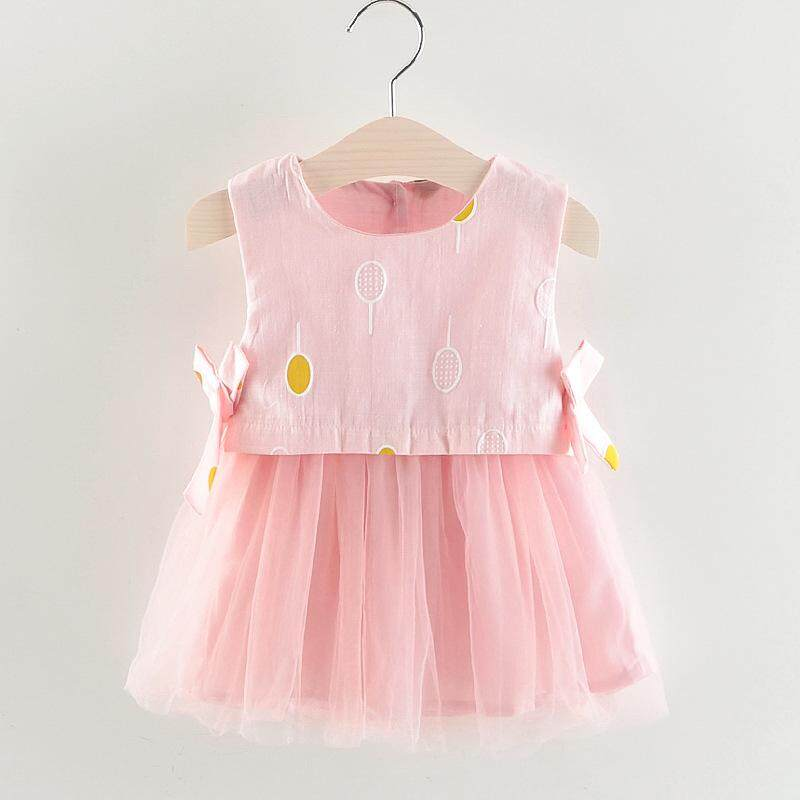 Baby Girl Summer Cotton Tutu Dress