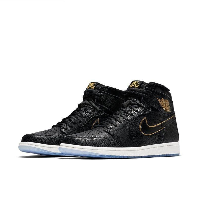 4bcc329e35fb15 Air Jordan 1 Retro Tinggi And Pria Sepatu Basket Sneakers Sport Outdoor  Nyaman Bernapas - 2 ...