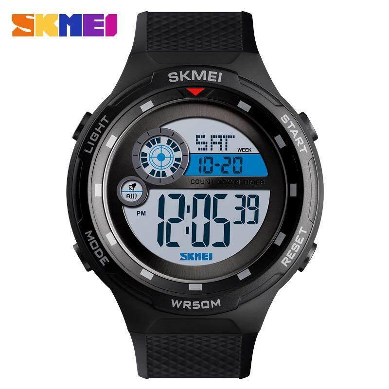 SKMEI Baru Jam Tangan Modis Pria Olahraga Countdown Jam Tangan Alarm Jam Outdoor Jam Tangan Digital