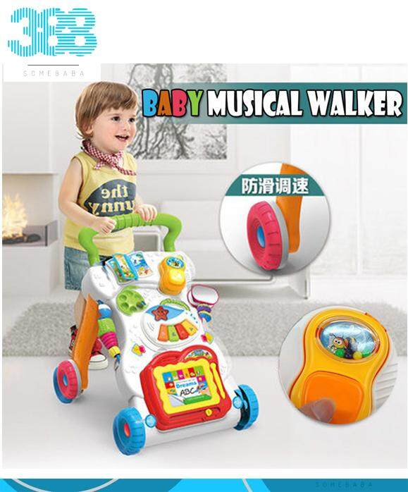 【READY STOCK】Baby Musical Walker
