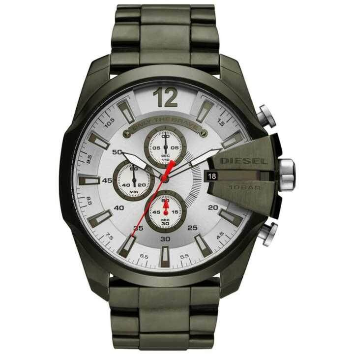 สอนใช้งาน  มุกดาหาร Diesel_Timeframes Mega Chief Chronograph Quartz DZ4478 Mens Watch