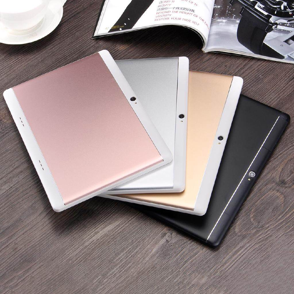 BLUETOOTH 64GB Android 7.0 Octa Core HD WIFI 2 SIM 4G 10.1'' Tablet PC 4 Colour - ROSE GOLD / GOLD / WHITE / BLACK