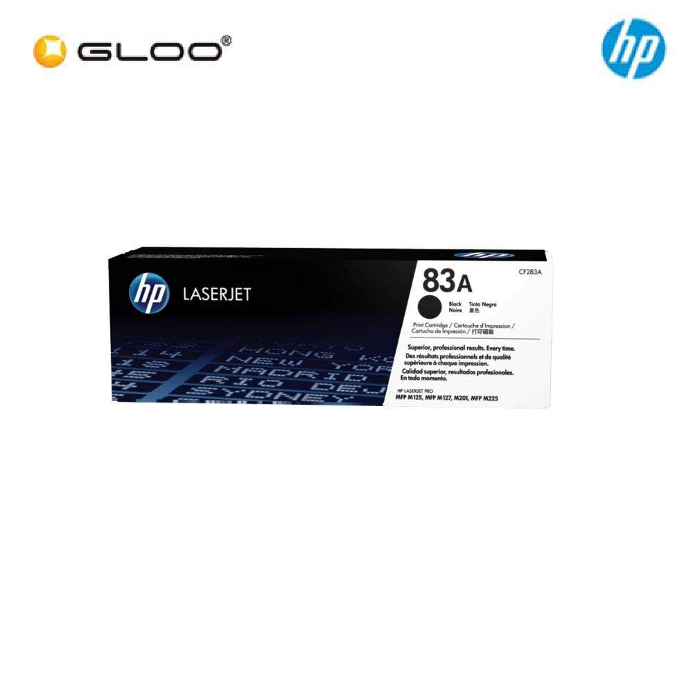 HP 83A Black Original LaserJet Toner Cartridge CF283A