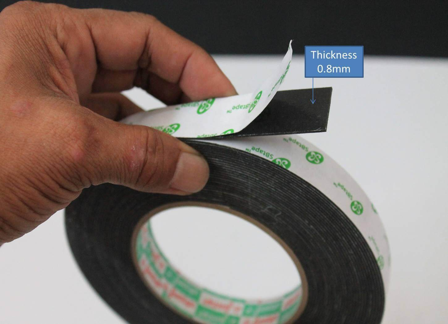 1 Pcs Heavy duty Double side tape 18mm for mounting wall sign board.Ship within 6 hours