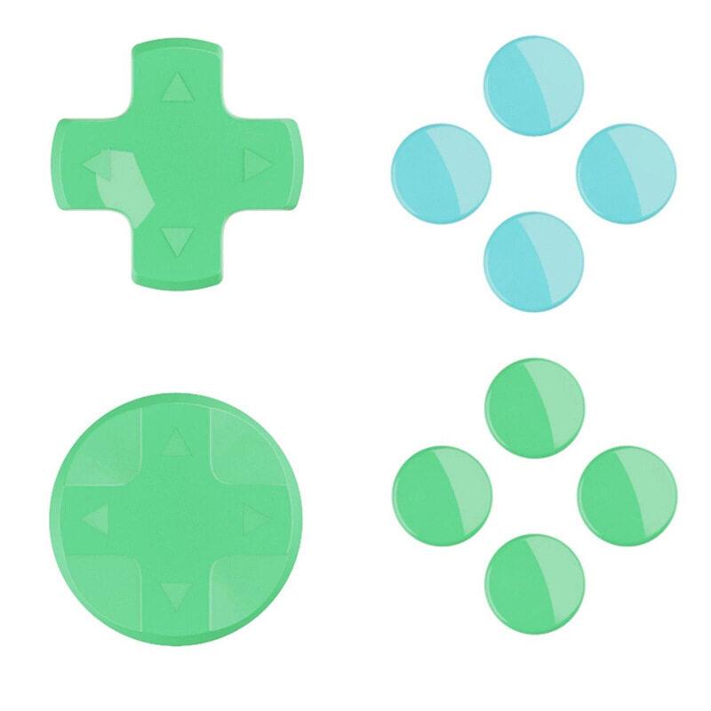 Hình ảnh Nút Chữ thập D-pad hình tròn cho Nintendo Switch Joy-Con Animal Crossing nắp đậy ngón tay cái đầy màu sắc cho phụ kiện Bảng điều khiển NS Switch