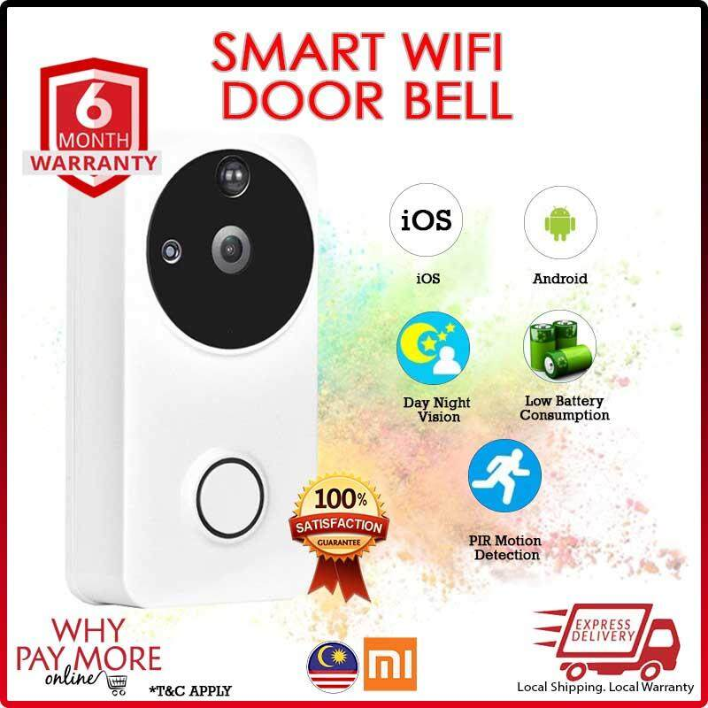 [New] [2019] Visual Doorbell WIFI Doorbell Camera PIR Motion Detection Night View Video Smart Safe System for Phone Control doorbell