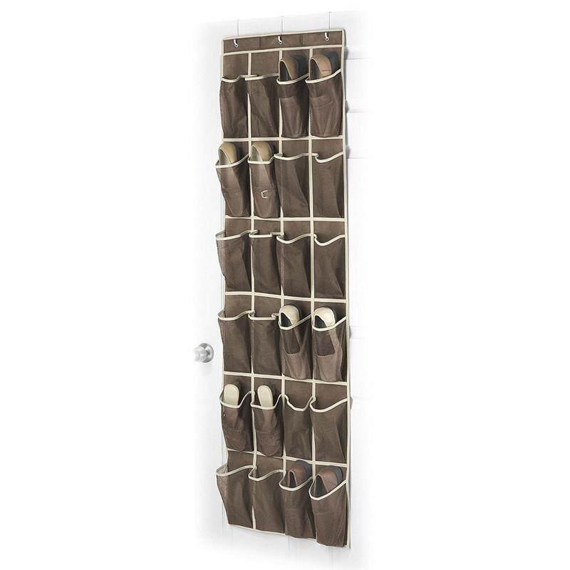 ... Cocotina 24 Saku Sepatu Ruang Pengatur Gantungan Pintu Rak Tas Dinding Lemari Penyimpanan Pemegang - 5