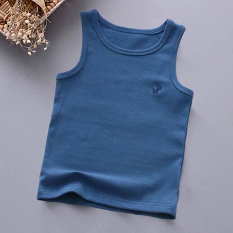 IPS เสื้อกั๊กเด็ก,เสื้อกล้ามคอตตอนเสื้อแจ็กเก็ตเสื้อแขนกุดสำหรับเด็กผู้ชายเด็กผู้หญิงเสื้อกั๊กเด็กหัดเดิน