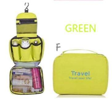 JOM KELLY Travel Toiletries Bag with Hook Cosmetic Pouch Hanging Toiletries Pouch