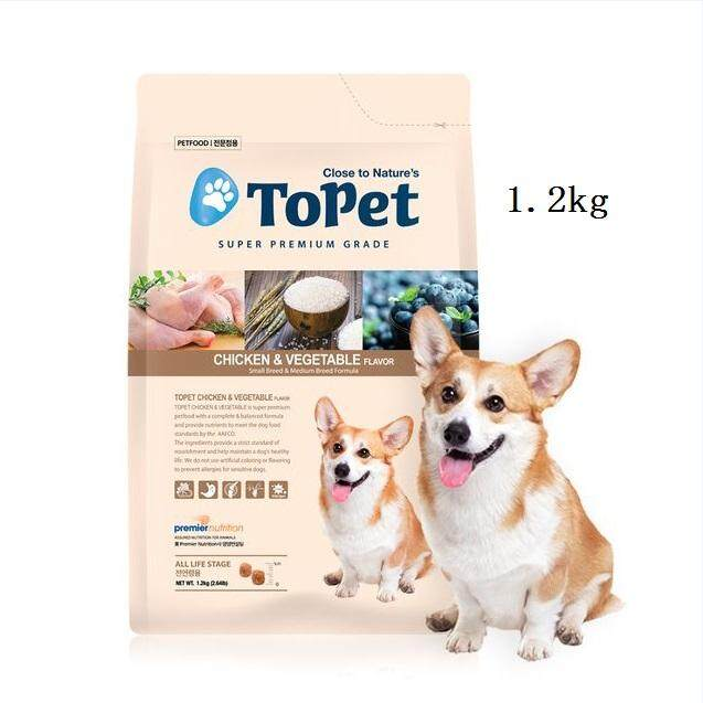 ToPet All Life Stage Chicken & Rice (1.2KG)