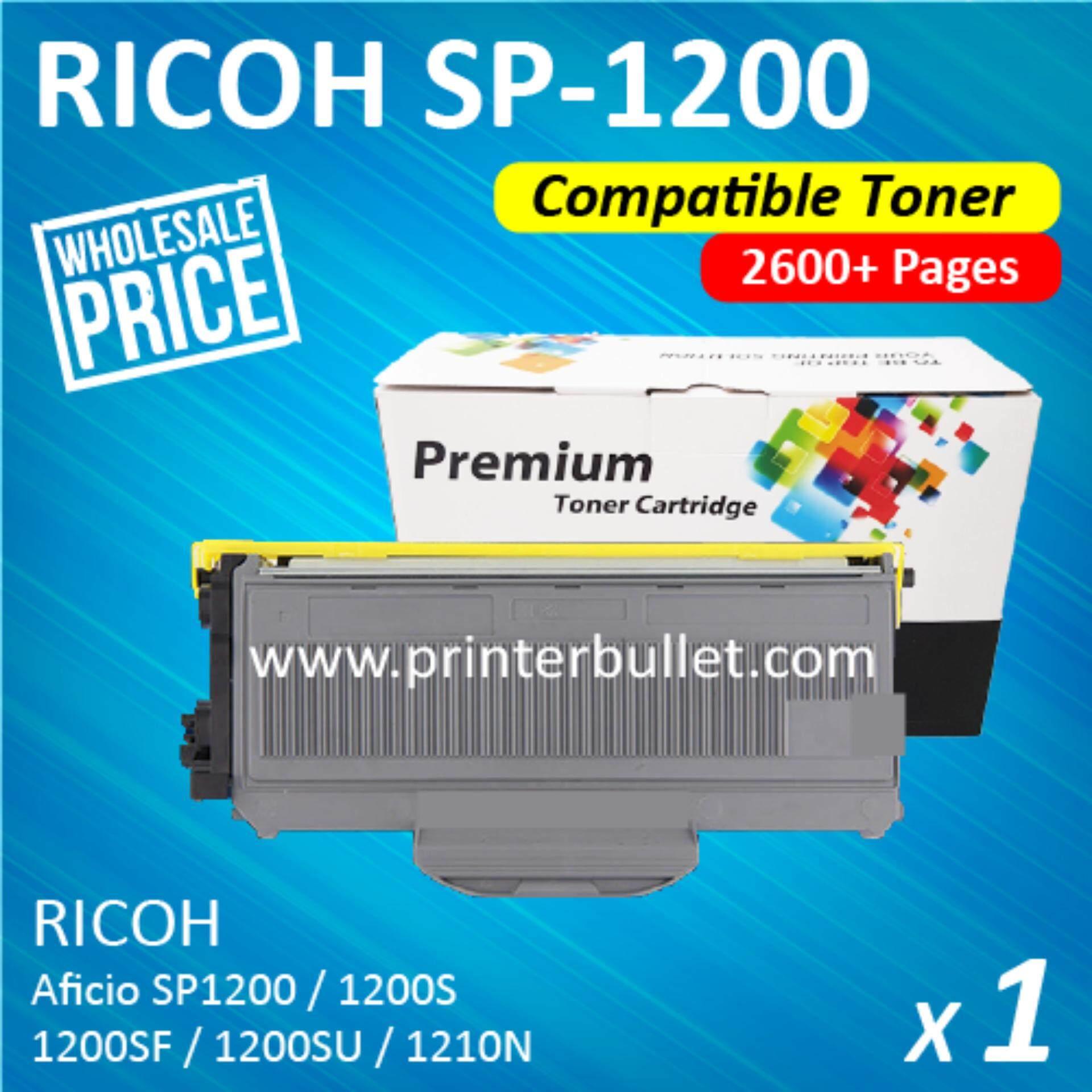 Ricoh SP1200 / SP1200S High Quality Compatible Laser Toner Cartridge For Ricoh Aficio SP1200 / SP1200S / SP1200SF / SP1200SU / SP1210N Printer