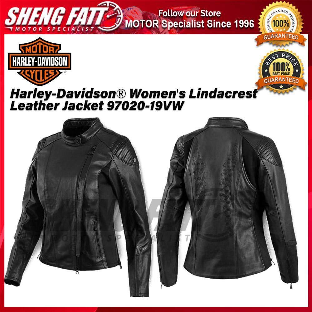 Harley-Davidson® Women's Lindacrest Leather Jacket 97020-19VW - [ORIGINAL]