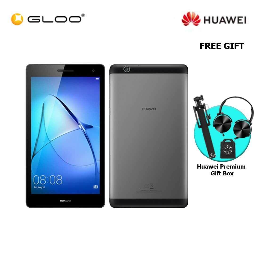 Huawei MediaPad T3 Space Gray + FREE Premium Gift Box (Headset/Selfie Stick/iRing)