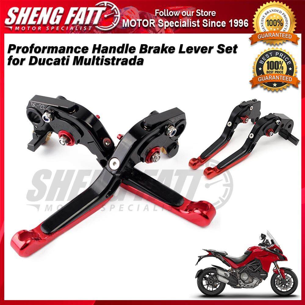 Proformance Adjustable Folding Extendable Brake Clutch Levers for Ducati Multistrada