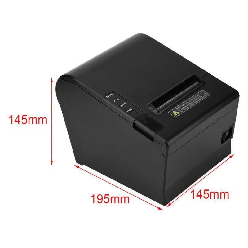 Printers - High Speed USB 80mm Thermal Receipt Printer for Bank Supermarket POS Printing - [US PLUG / EU PLUG]
