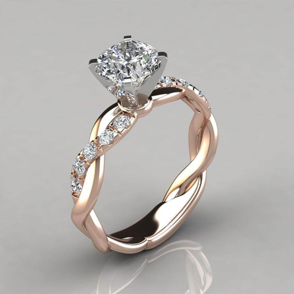 OVAL SOLITAIRE NEW 925 STERLING SILVER LADIES ENGAGEMENT ANNIVERSARY RING BAND