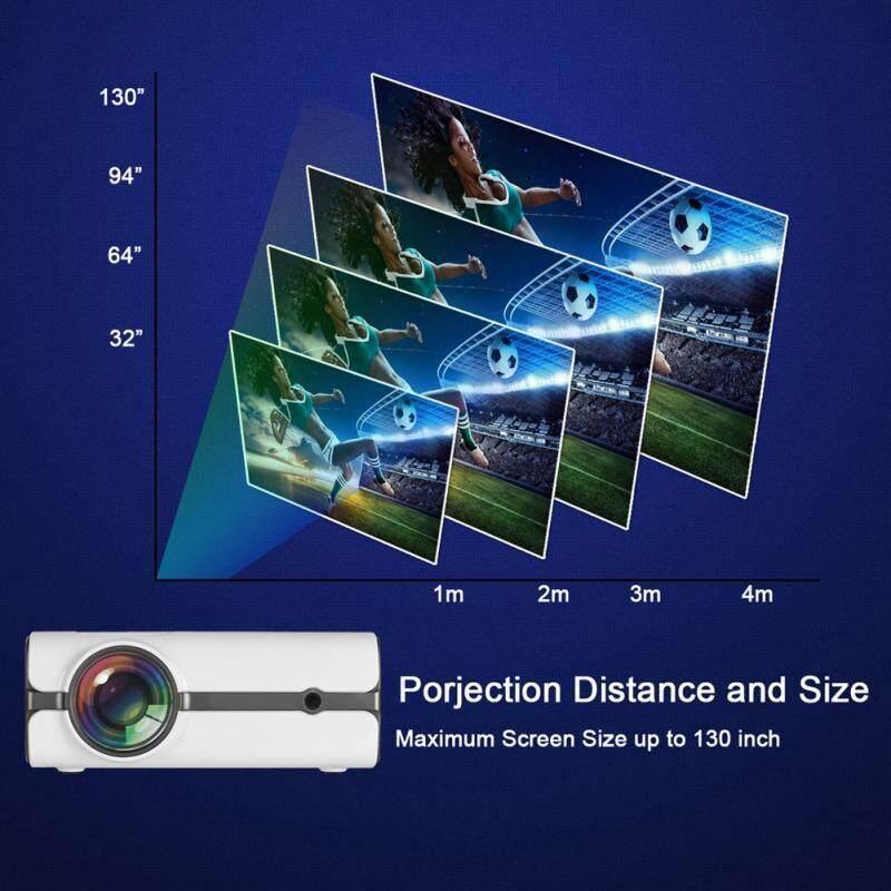 Home Audio Accessories - Optical Trapezium Adjustment Home Theater  Projector 1080P 16 7K Colors LED - [UK PLUG / AU PLUG]