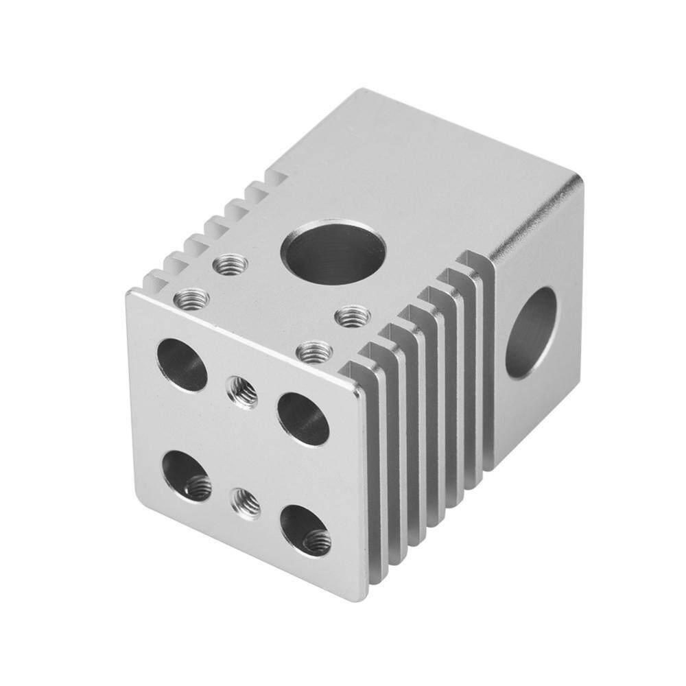 Printers - Aluminum Alloy Heatsink Cross Sliding Block Four Nozzles Head for 3D Printer