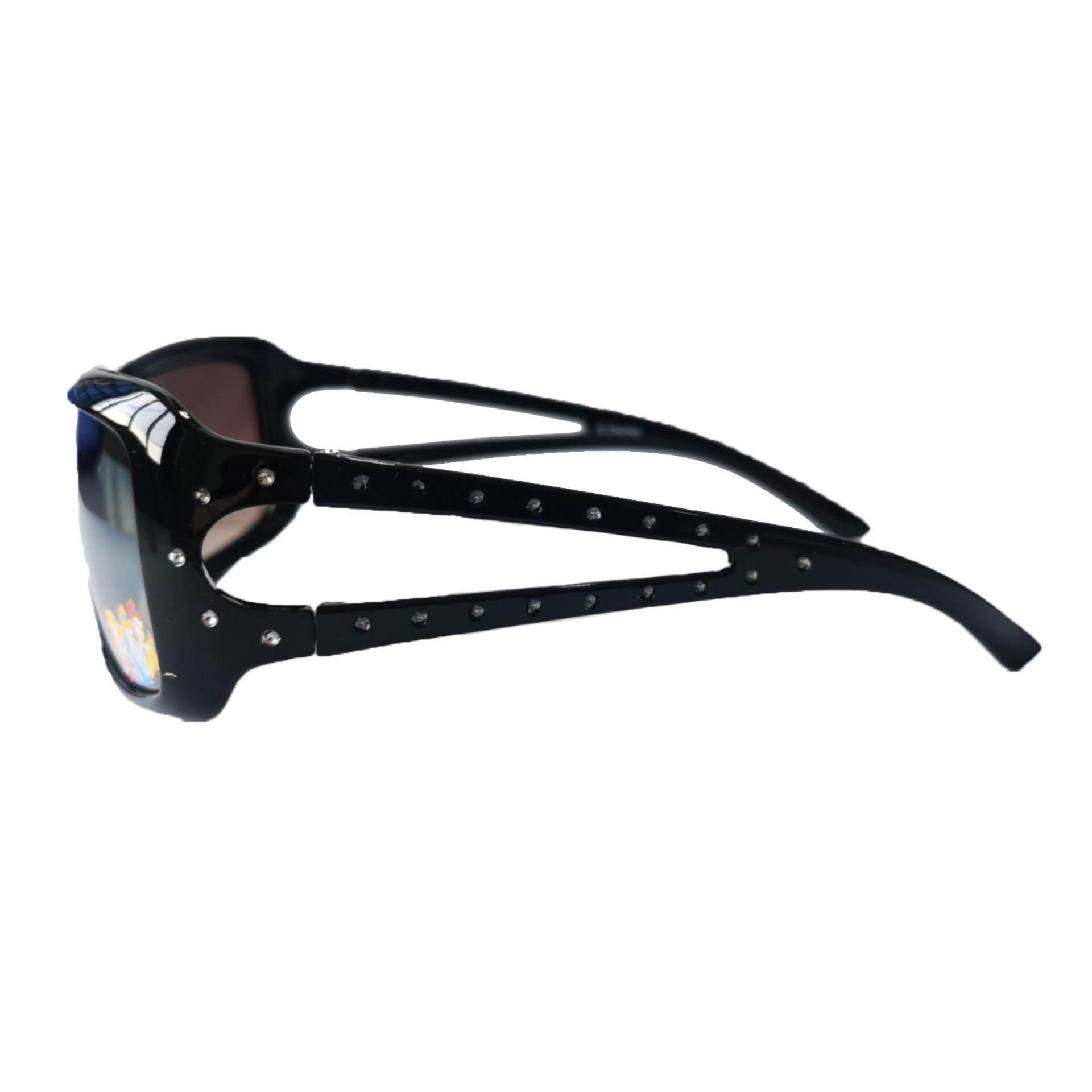 68c50bd3bb Disney Princess Girls Square Lens 100% UV Protection Eyewear Outdoor  Sunglasses - Black Colour