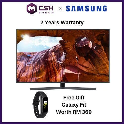 "Samsung 65"" RU7400 Smart 4K UHD TV UA65RU7400KXXM"