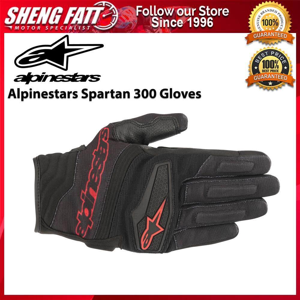 ALPINESTARS SPARTAN 300 GLOVES (BLACK/RED)