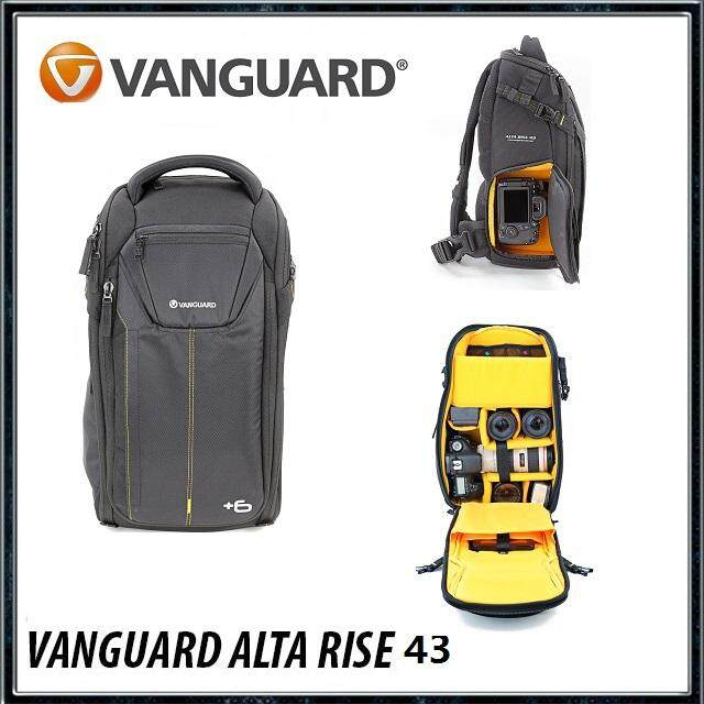 Vanguard Alta Rise 43 Sling Bag for DSLR, Compact Camera, Compact System Camera (CSC), Travel