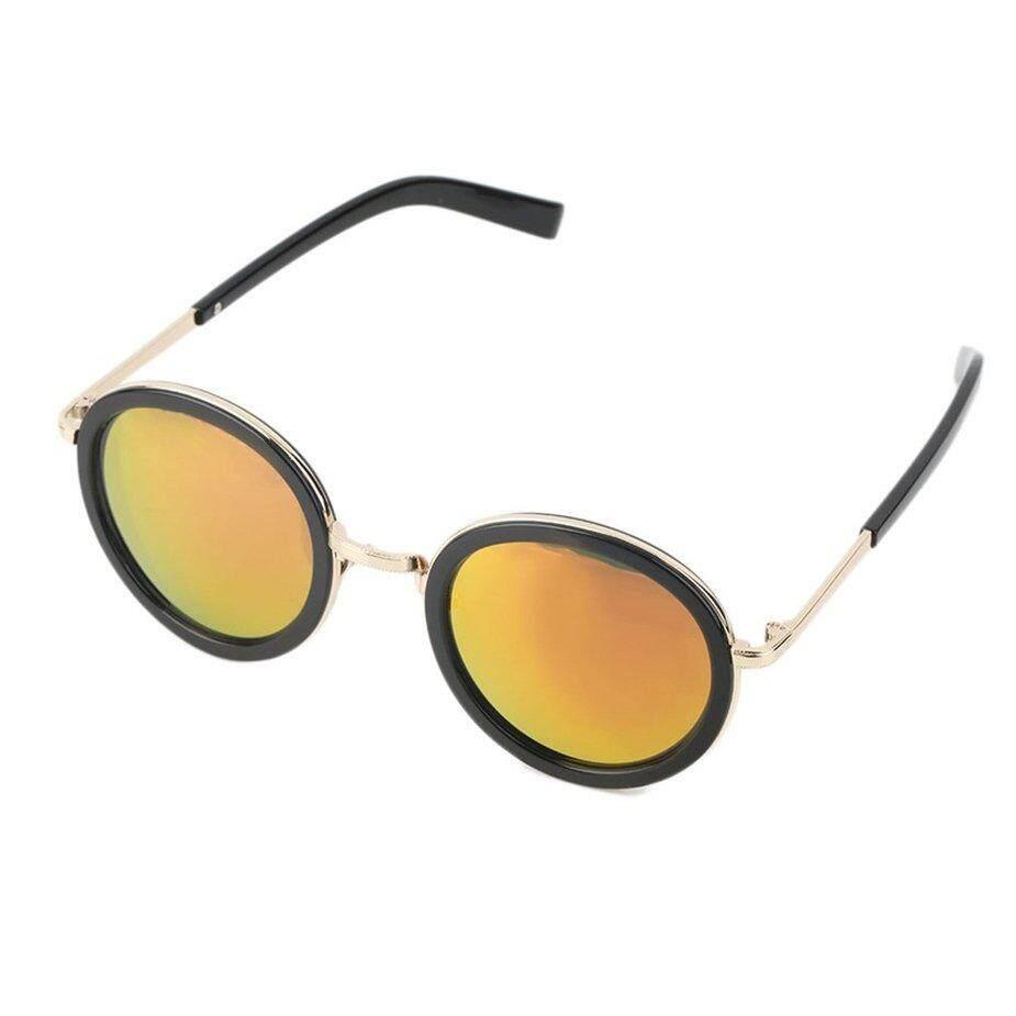 ใหม่กรอบกลมย้อนยุคแว่นตากันแดดผู้หญิง Designer แฟชั่น UV400 แว่นตา, แว่นกันแดดแฟชั่น