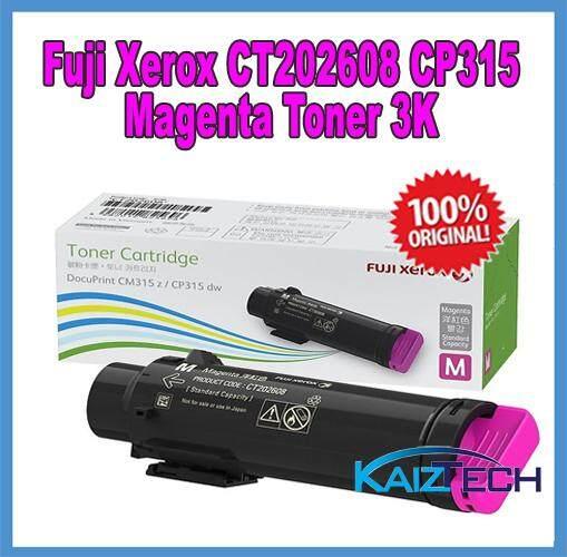 Original Fuji Xerox CP315dw CM315z Standard Capacity Toner 3000pages CP315  CM315 CT202606, CT202607, CT202608, CT202609