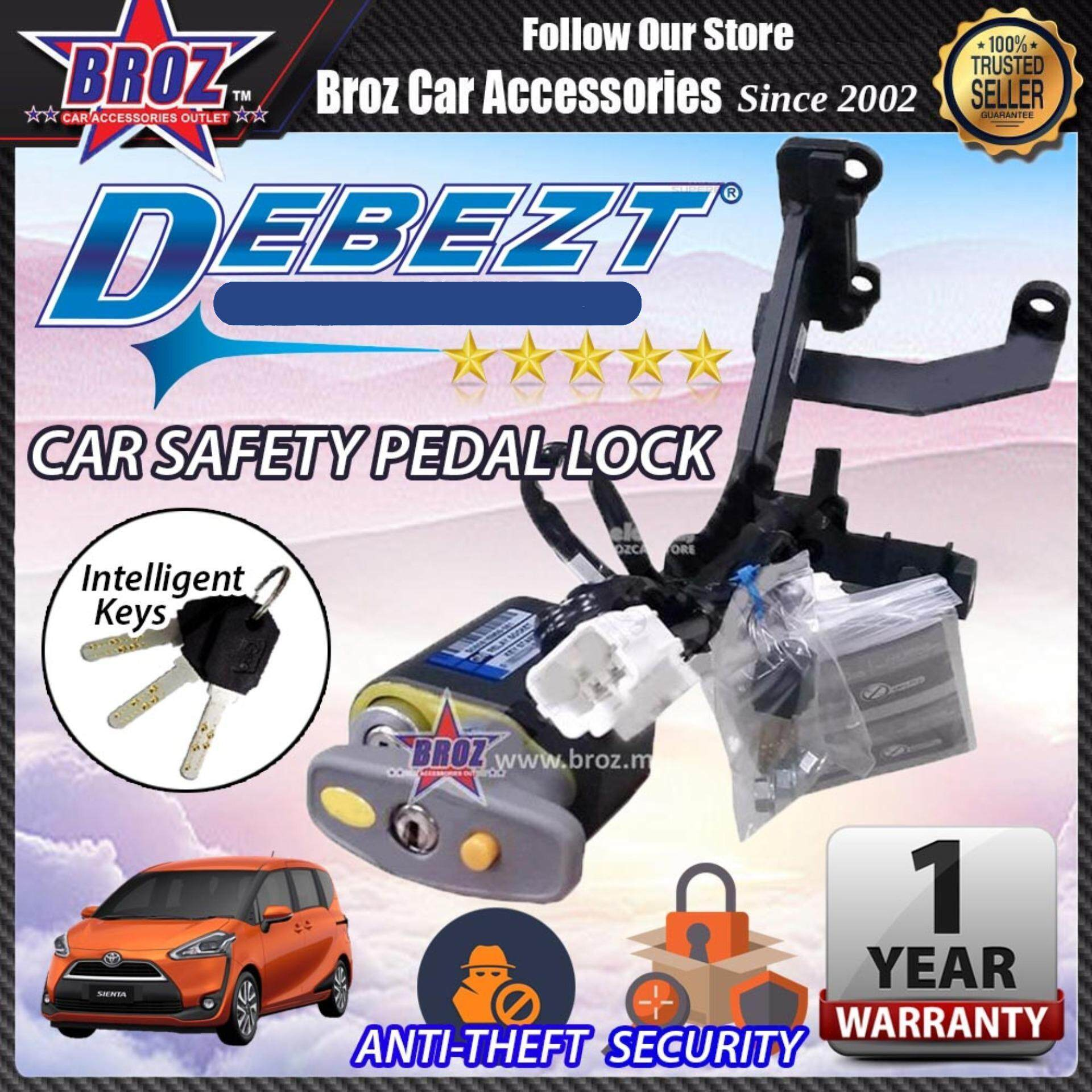Sienta 2016-2017 Debezt Auto Push Start Anti Theft Double Pedal Lock