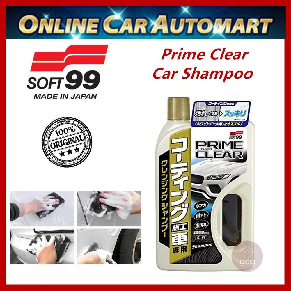 Soft 99 / Soft99 Prime Clear Shampoo Cleansing Shampoo for Coated/Waxed Car Shampoo