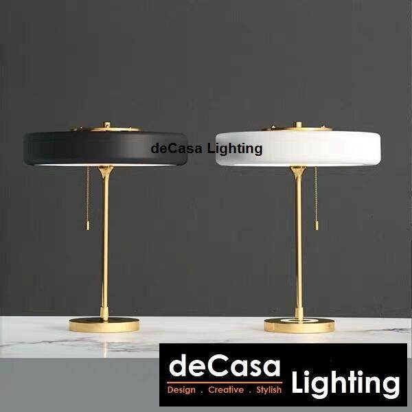 New Arrival LED Designer Modern Decorative Designer Table Lamp with Gold Stand DECASA (FP-T1122)