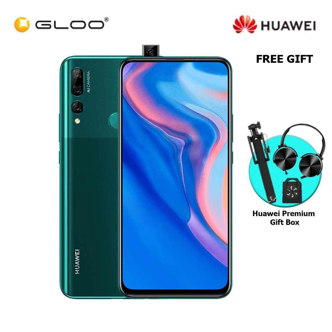 Huawei Y9 Prime 2019 4GB+128GB Emerald Green + FREE Premium Gift Box (Headset/Selfie Stick/iRing)