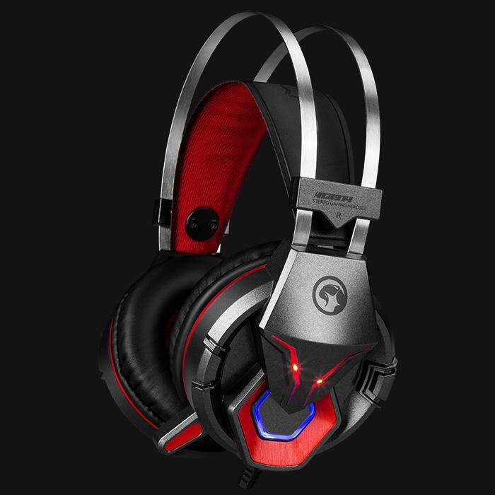 Marvo Scorpion HG8914 Over Ear Gaming Stereo Headphone 50mm Driver Omni-directional Mic 2.3m Cable for PC / Console