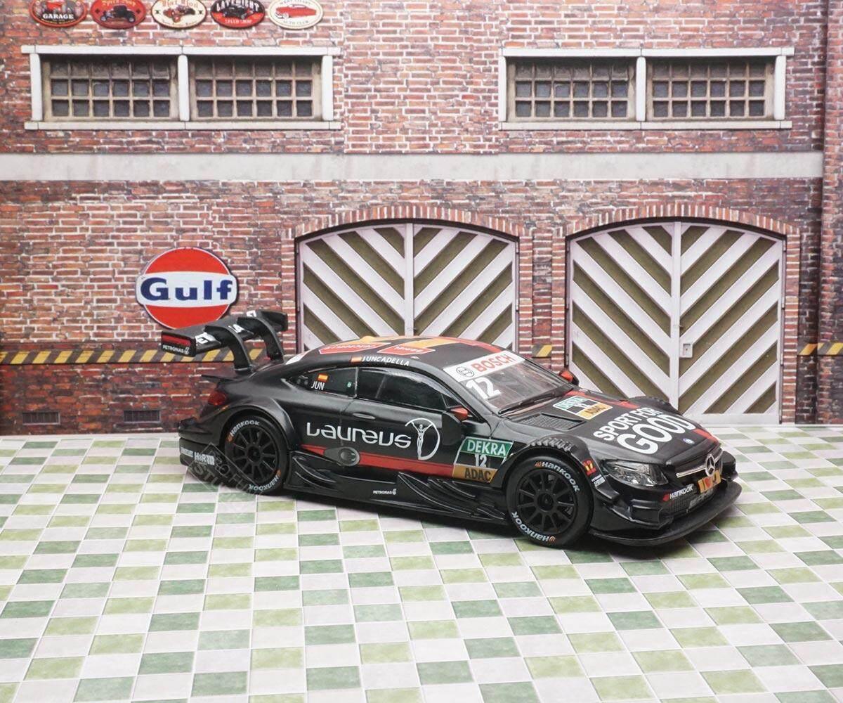 RMZ City 1:43 Mercedes-Benz AMG C63 DTM #12 Dekra 2016 Daniel Juncadella Car diecast model Black Limited Stock in World
