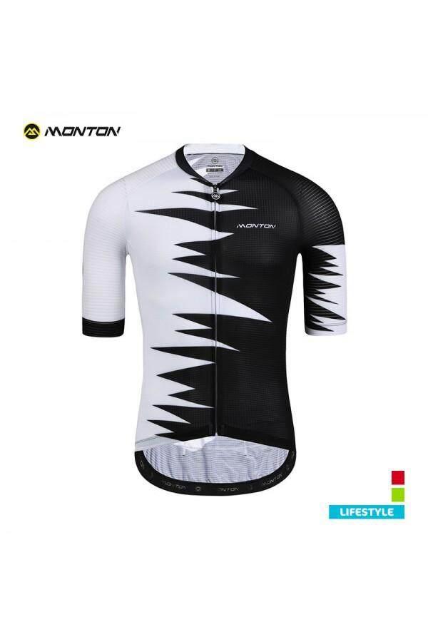 MONTON MENS CYCLE JERSEY LIFESTYLE ROAR BLACK/WHITE
