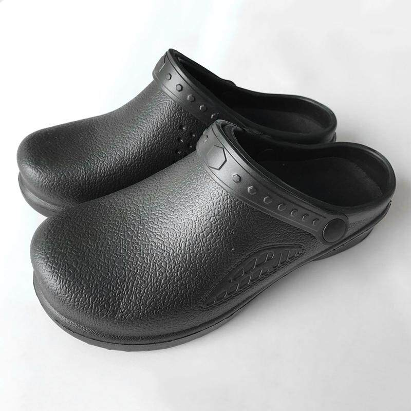 Footwear Chef Shoes Cook Shoes Non-Slip Unisex Safety Antislip Kitchen Black