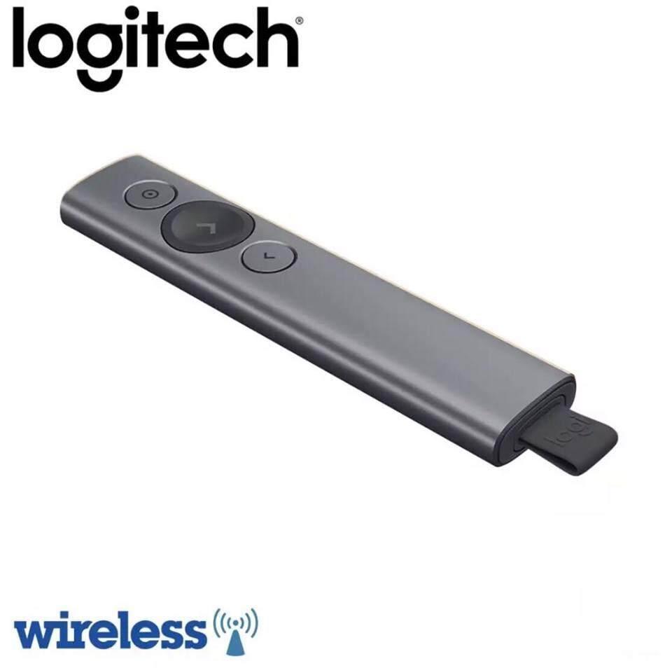 Logitech Spotlight Wireless Presentation Remote - Slate (Logitech Malaysia)