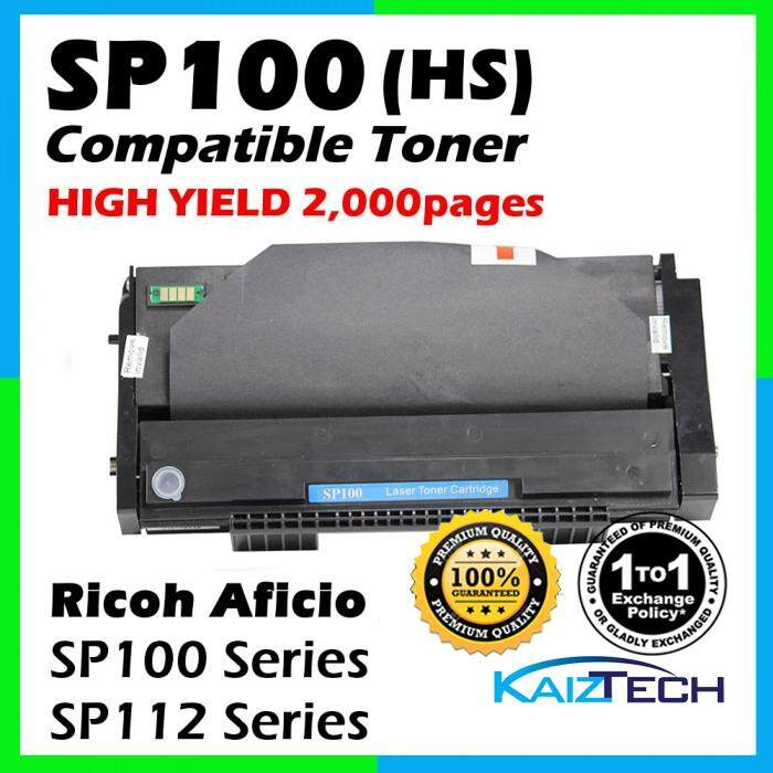 Ricoh SP100 / SP112 Compatible Toner Cartridge For Ricoh Aficio SP100e / SP100su / SP100sfe / SP100sf / SP112 / SP112sf / SP112su printer