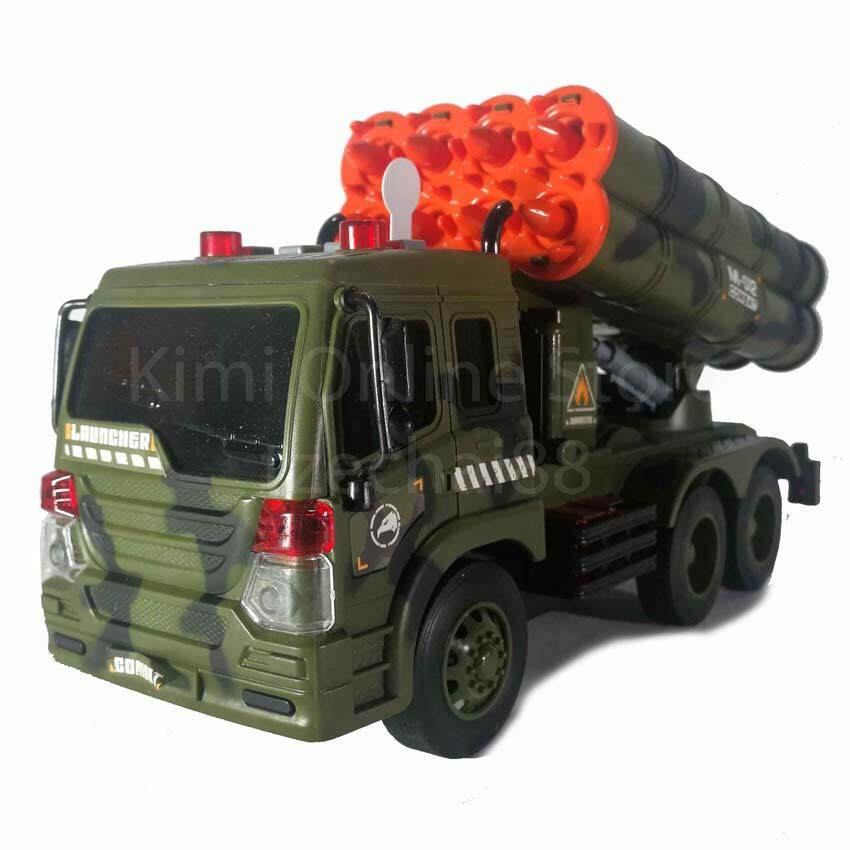 Missile Vehicle Educational Toy Sound & Light 1:16 Military Series WY650D Wen Yi