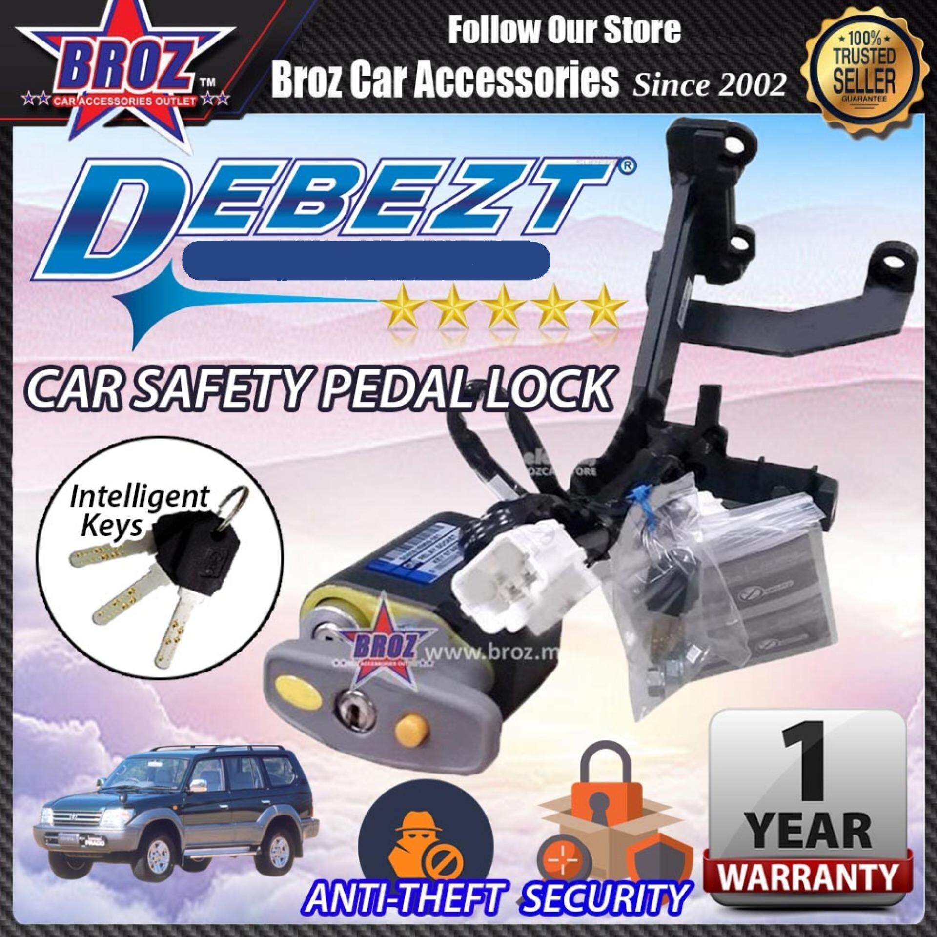 Prado 90 1996-2002 Debezt Auto Key Start Anti Theft Double Pedal Lock