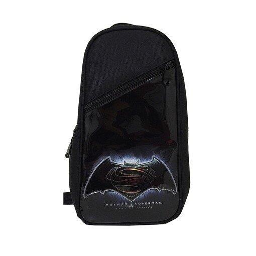 DC Comics Batman VS Superman Sling Backpack - Black Colour