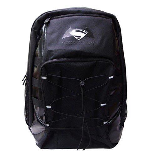 DC Comics Batman VS Superman Zip Backpack - Black Colour