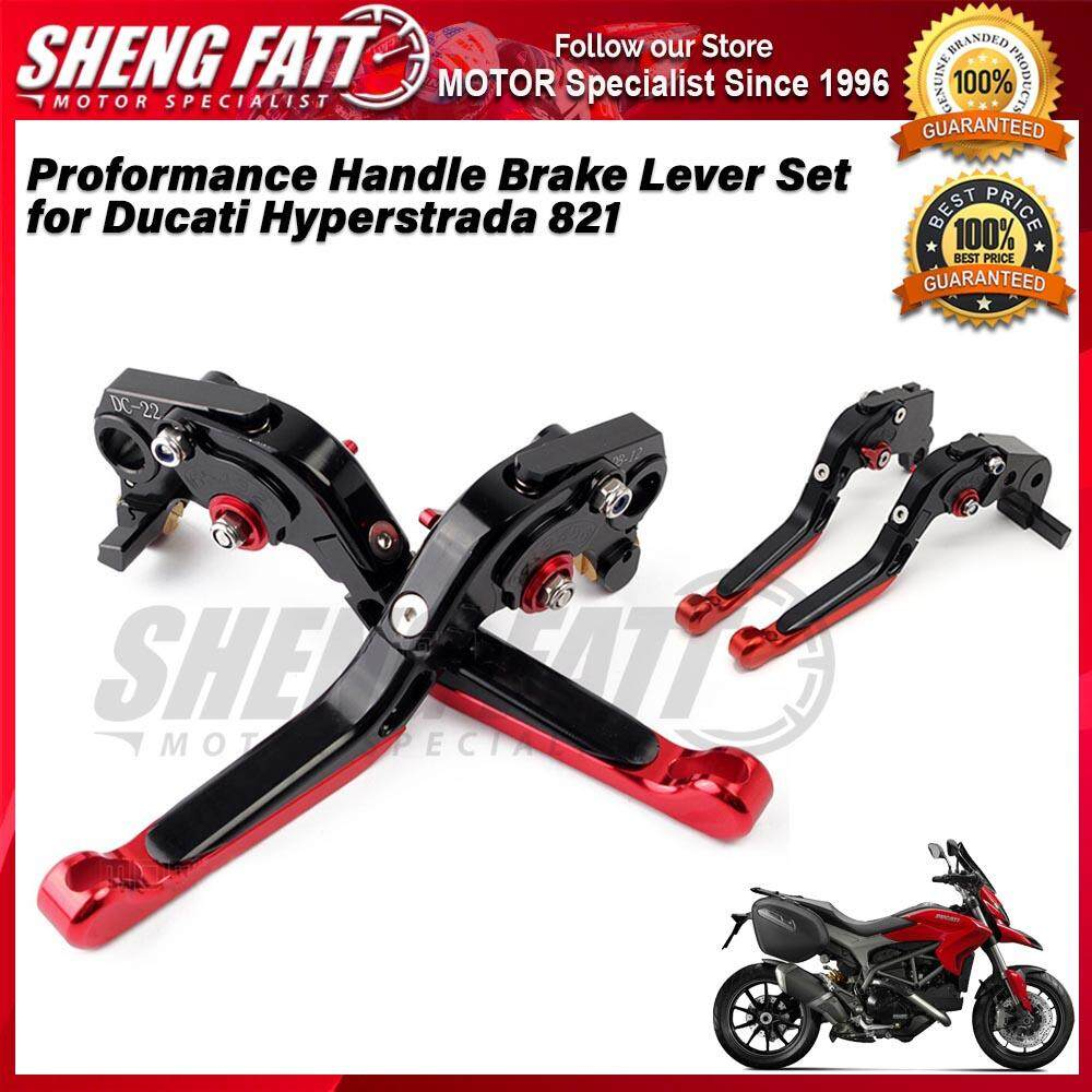 Proformance Adjustable Folding Extendable Brake Clutch Levers for Ducati Hyperstrada 821