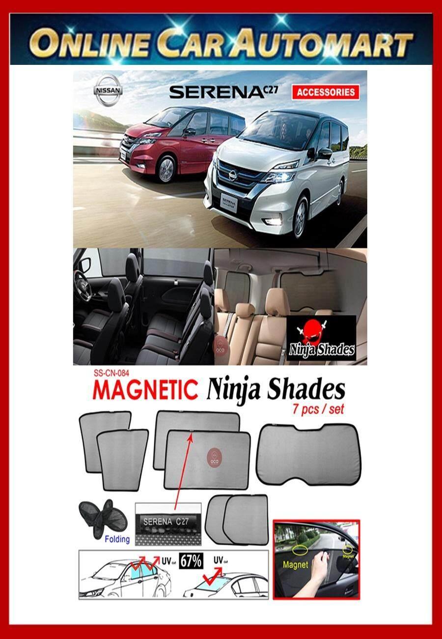 Nissan Serena C27 Magnetic Ninja Sun Shade sunshade (7PCS)