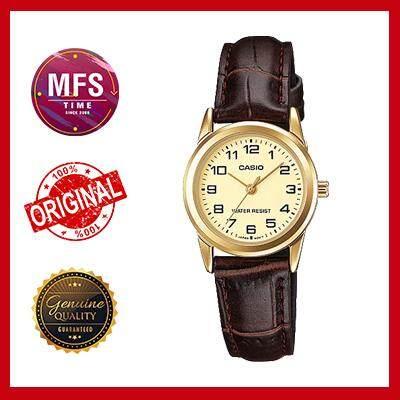 (2 YEARS WARRANTY) Casio Original LTP-V001GL-9B Standard Analog-Ladies Watch